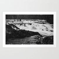 Old Dam Art Print