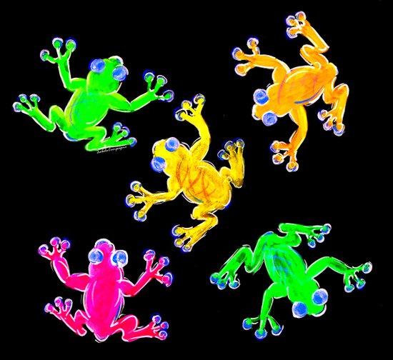 Rainforest Multicolour Canvas Print