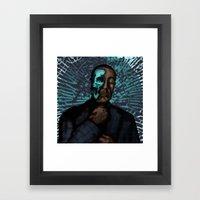 Under the Face Framed Art Print