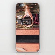 Take a photo iPhone & iPod Skin