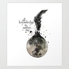 All Knowledge Is Within … Art Print