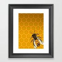The Last Honeymaker Framed Art Print