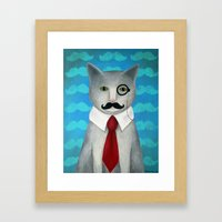 Sir Conrad Pennyworth III Framed Art Print