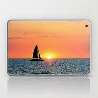 Sail Into The Sunset Laptop & iPad Skin