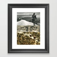 There Was A Time Framed Art Print