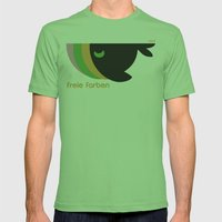 freie farben Mens Fitted Tee Grass SMALL