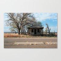 Glenrio, NM/TX, Route 66 Canvas Print