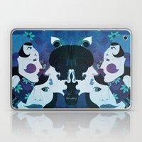 Ladies Blue Laptop & iPad Skin