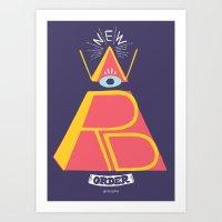 New Word Order! Art Print