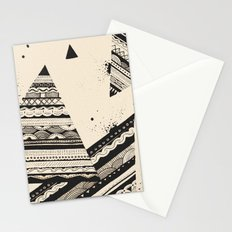 Pattern Doodle Two Stationery Cards