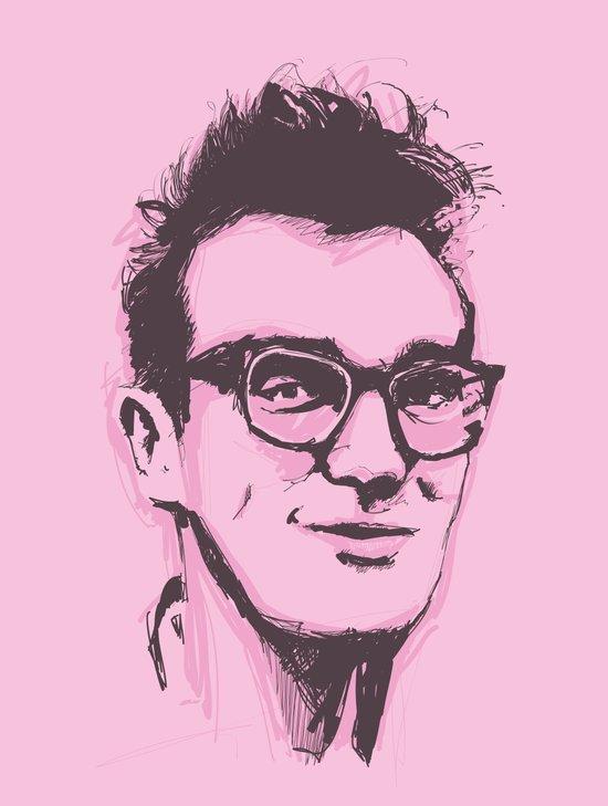 Morrissey Art Print