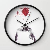 With Birds I'll Share ..… Wall Clock