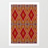 Native Pattern 5 Art Print