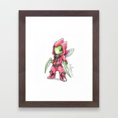 The Deadliest Ninja Warrior Framed Art Print