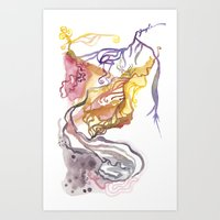 Iceland Abstracted: Kraf… Art Print