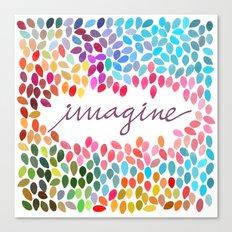 Imagine [Collaboration with Garima Dhawan] Canvas Print