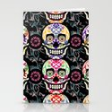 Happy calaveras Stationery Cards