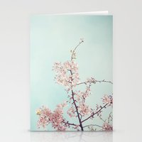 Spring happiness Stationery Cards