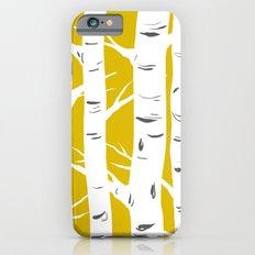Mustard Birches iPhone 6 Slim Case