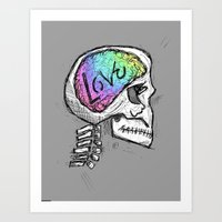 Love Ingrained Art Print