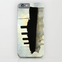 Titanic watercolour iPhone 6 Slim Case