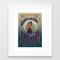 Nerdfighters Salute! Framed Art Print