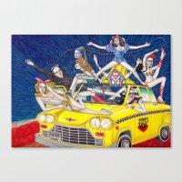 少女時代 - Girls Generation / Gouache Original A4 Illustration / Painting Canvas Print