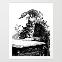 When I Think About You, … Art Print