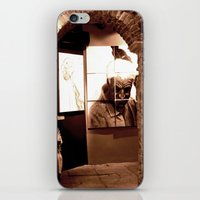 Trapped Man iPhone & iPod Skin