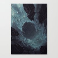 why do we fall ? Canvas Print