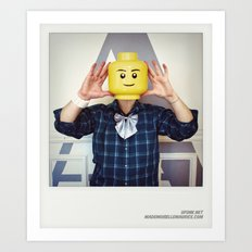 Minifig me ! – Everyone has a LEGO piece inside - 9 Art Print