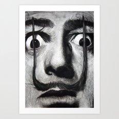 I am drugs ( Salvador Dali ) Art Print