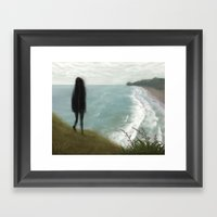 The View From Lion Rock Framed Art Print