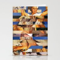 Glitch Pin-Up Redux: Queenie Stationery Cards