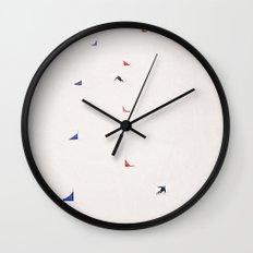 i'd rather be skiing Wall Clock