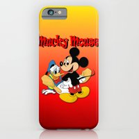 iPhone & iPod Case featuring Mucky Mouse by PsychoBudgie