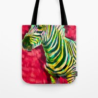 Mr. Zebra Tote Bag