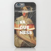 iPhone Cases featuring Vagueness by Frank Moth