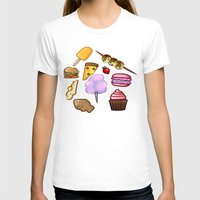 food T-shirts featuring food by Cinna Welch