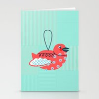 Robin Ornament Stationery Cards