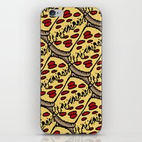 Pattern Pizza iPhone & iPod Skin