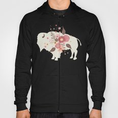 Floral Buffalo Hoody