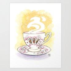 Royal Flush Art Print