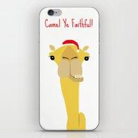 Camel Ye Faithful! iPhone & iPod Skin