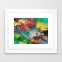 Cosmic Clouds Framed Art Print