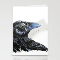 RHX Raven Logo Stationery Cards