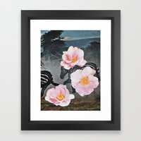 GARDEN LACE Framed Art Print