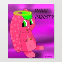 What Carrot? Canvas Print