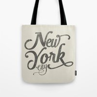 New York City Vintage Ty… Tote Bag