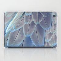 Silver Feathers iPad Case
